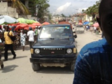 On the streets of Port au Prince